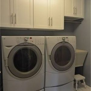 Laundry Room Cleaning & Organizing - After Simply Organized